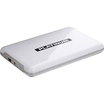 MYDRIVE 500GB  /USB2.0 FESTPLATTE, WT, PLATINUM
