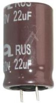 22UF-450V ELCO RADIAL 16X32MM. 105GR. ROHS-CONFORM