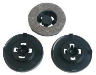 3 disques feutre pour cireuse Chambord Electrolux