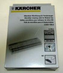 Bonnette Microfibre pour nettoyeur à vitres Karcher