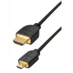 CABLE HDMI MALE 19PIN/HDMI MICRO MALE TYPD 1,0M