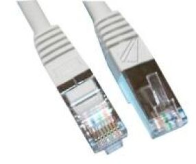 CORDON RJ45 M?LE BLINDAGE SIMPLE CAT.5 CONNEX: 1:1, 1,0M.