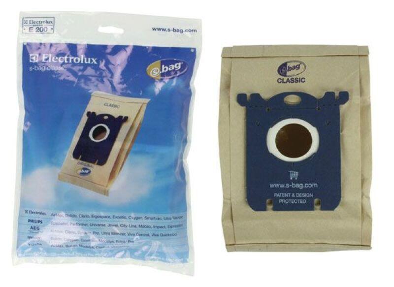 electrolux 3367414 8 25 sac aspirateur s bag e200 x5. Black Bedroom Furniture Sets. Home Design Ideas