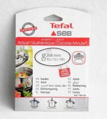 Joint silicone pour autocuiseur/cocotte minute SEB 10/12/18L ALU/INOX diamètre 268MM
