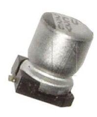 100UF-6,3V 105° SMD CONDO. 6,3X5,8MM