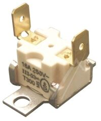 Thermostat - Klixon Sèche Linge - 16A - 250V - 250°C - T300 - C00121897 - 482000022891 - WHIRLPOOL