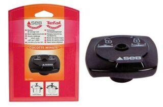 Bouton de serrage noir pour autocuiseur / cocotte minute SEB 790071 - 406778