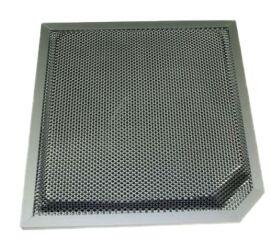 Filtre charbon cadre alu xhi900/901ix (Type CR410) pour Hotte