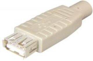 FICHE-USB FEMELLE TYPE-A SOUDABLE
