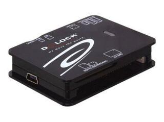 LECTEUR CARTES MEMOIRE USB2 TOUT EN UN 6 PORT  91471