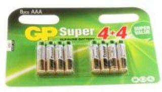 LR03 1,5V SUPER ALCALINE LR03/AAA 8PIECES