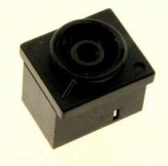 JACK-DC POWER:3P,6.7MM,SNPB,BLACK