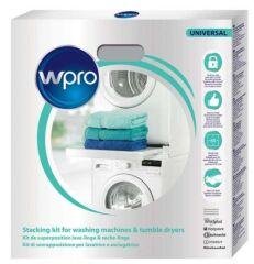 SKS101 WPRO - Kit de superposition UNIVERSEL pour lave-linge et sèche-linge