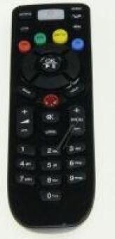 TELECOMMANDE IP HOTEL TV & MULTI IR NOIRE