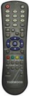 RC1055 TELECOMMANDE TECHWOOD(GRAY/S)(NOIR/P)