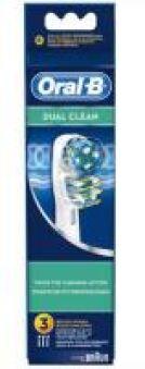 EB417- BROSSETTES ORAL B DUAL CLEAN X3