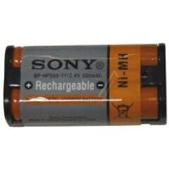 Batterie nickel hydrogène bp-hp550 pour casque audio sony Ref: 175674722