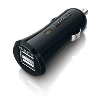 PHILIPS CHARGEUR ALLUME CIGARE DLM2205 USB