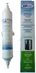 Filtre à eau de réfrigérateurs américains SAMSUNG / WHIRLPOOL / LG / LIEBHERR