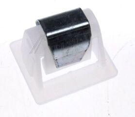 Crochet de fermeture de hublot sèche linge Electrolux (Ref 1255114025) 24x17x20MM - D1766