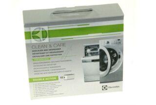 Electrolux - Clean & Care Détartrant et dégraissant (lot de 10) - D331672