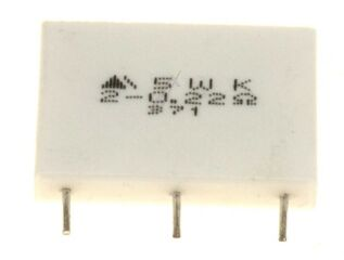 CEMENT RESISTOR 0.22+0.22 5W DSP-Z11(GD