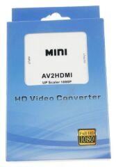 CONVERTISSEUR RCA AUDIO VIDEO VERS HDMI