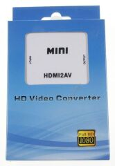 CONVERTISSEUR HDMI VERS RCA AUDIO VIDEO