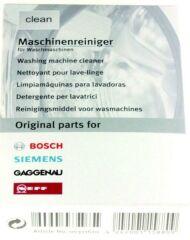 Kit de nettoyant en poudre pour lave linge Bosch 00311610