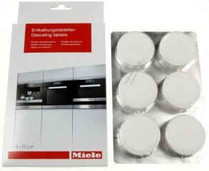 Tablettes de détartrage 6 pastilles - MIELE Réf. 10178330