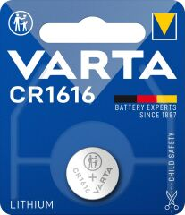 PILE VARTA LITHIUM CR1616              +IRB !