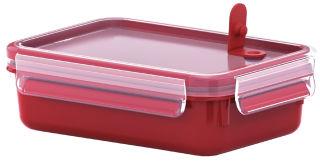 CLIP & GO Boîte de conservation des aliments  rectangulaire 0.8L