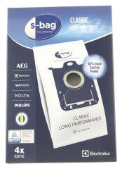 4 Sacs S Bag E201S pour aspirateur Electrolux Ultrasilencer, Ergospace, Ultraone