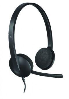 H340 STEREO-HEADSET, USB, LOGITECH