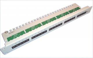 SEPHONE VERTEILERFELD 25 4-POLIG RJ45,  /48CM, 1HE, CAT3, GRAU, SE