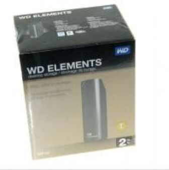 WD ELEMENTS? DESKTOP 2TB  /USB3.0 FESTPLATTE