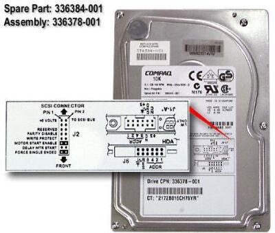COMPAQ HDD 9,1GB WU-SCSI HOTPLUG 10K/ 68PIN