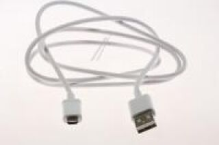 DATA LINK CABLE-USB CABLE, 3.3PI, 1M, WH;