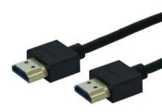 HDMI-A-MALE/ HDMI-A-MALE,SUPER SLIM 2,0M