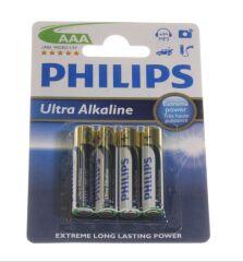 AAA MICRO ULTRA ALCALINE AAA/LR03 BATTERIE 4-BLISTER