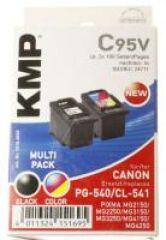 CARTOUCHE MULTIPACK NOIRE/COULEUR 2X8ML CANON PG540/CL541