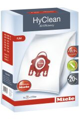 Miele HyClean FJM Sac d'Aspirateur - 3D Efficiency (X4)