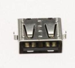 BUCHSE (USB;9P,AU,BLK,ANGLE,A)